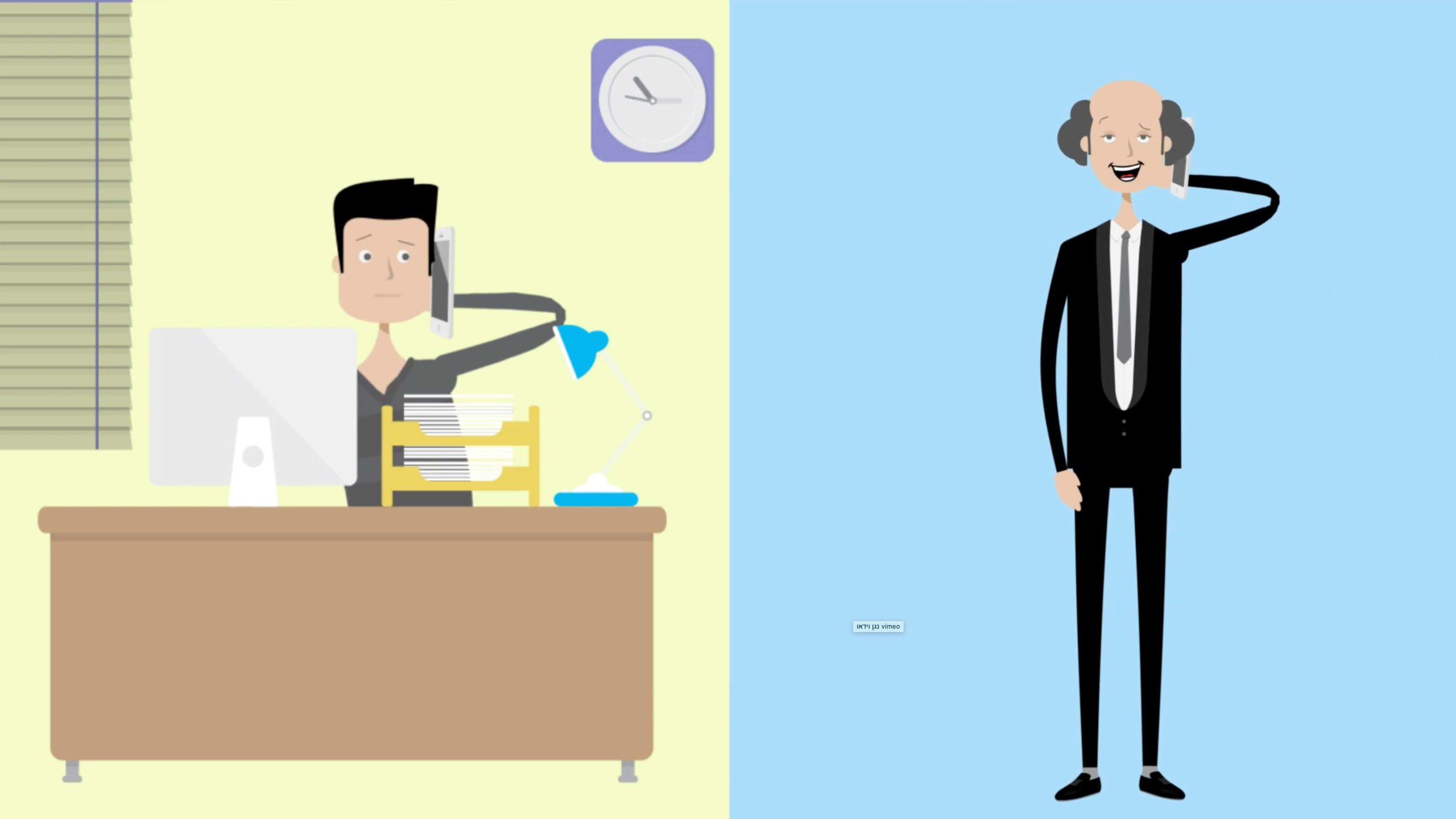 סרטון אנימציה שהופק עבור פרוביט חברה לביטוח